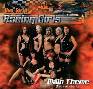 Live-Strip.com Promotion- und Racing-Girls Theme - kostenloser Download von Musik und Video